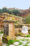 chellah在摩洛哥和站点 库存照片