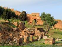 Chellah,拉巴特,摩洛哥 免版税库存照片