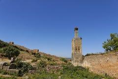 chellah ιστορικό μνημείο στοκ εικόνες με δικαίωμα ελεύθερης χρήσης