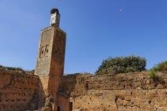 chellah ιστορικό μνημείο στοκ εικόνες