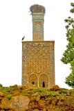 chellah в Африке ухудшило памятник и место Стоковое Фото