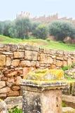 chellah en el sitio de Marruecos fotografía de archivo