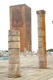 chellah in Marokko Afrika royalty-vrije stock afbeelding