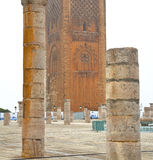 The   chellah  in morocco africa  old roman deteriorated monumen Stock Photos