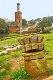 chellah nel Marocco Africa il minareto fotografie stock