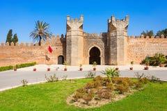 Chellah in Rabat stock photography