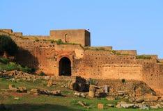 Chellah Rabat, Marocko Fotografering för Bildbyråer
