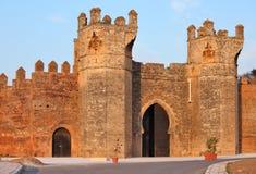 Chellah - roman buildings in Morocco Royalty Free Stock Photos