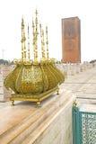 chellah w Morocco Africa starym złocie fotografia royalty free