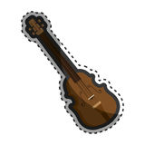 Chello instrument isolated icon Royalty Free Stock Image