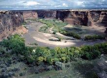 chelly亚利桑那峡谷de 库存图片