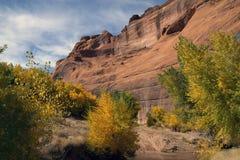 chelly亚利桑那峡谷de monument国民 免版税库存图片