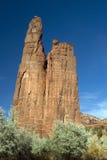 chelly亚利桑那峡谷de monument国民 库存图片