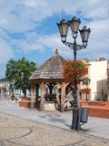 Chelm, Poland. The main square in the old town of Chelm, Poland Royalty Free Stock Photo