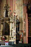 Chelmno cathedral interior Royalty Free Stock Photography