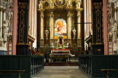 Chelmno cathedral interior Stock Image