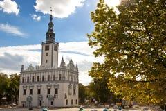 Chelmno - de stadhuisbouw. Royalty-vrije Stock Afbeelding