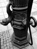 Chelmno facente un giro turistico Sguardo artistico in bianco e nero Immagine Stock Libera da Diritti