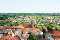 Chelmno i Polen Royaltyfri Fotografi