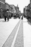 Chelmno Poland - city centre old street Royalty Free Stock Photography