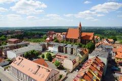 Chelmno in Poland Royalty Free Stock Photo