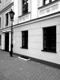 Chelmno zwiedzać Artystyczny spojrzenie w czarny i biały Zdjęcie Stock
