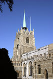 Chelmsford Cathedral. Is the Church of England cathedral in the town of Chelmsford, Essex, England. The cathedral is dedicated to St Mary the Virgin, St Peter Stock Image