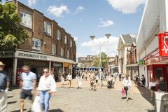 Chelmsford England, UK fotografering för bildbyråer