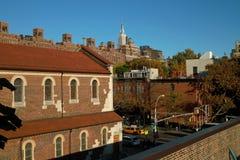 chelsea曼哈顿邻里纽约 免版税图库摄影