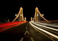 Chelsea Bridge à Londres images libres de droits