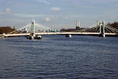 Chelsea bridge. In Lonon,UK Stock Photo