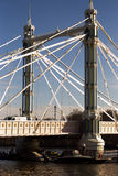 Chelsea bridge. In Lonon,UK Royalty Free Stock Photography