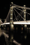 Chelsea Bridge stock images