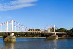 Chelsea Bridge stock photos