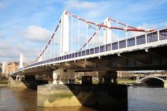 Chelsea Bridge Stock Image