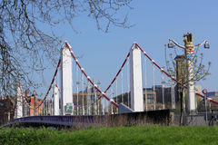 Chelsea Bridge. Over the river Thames, London, england Royalty Free Stock Image