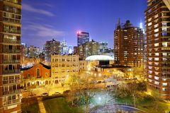 Chelsea Cityscape in New York City Royalty Free Stock Photography