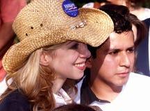 chelsea Clinton Texas uniwersytet Fotografia Royalty Free