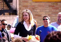 Chelsea Clinton in University Texas II Royalty Free Stock Image