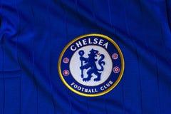 Chelsea emblem royaltyfri bild