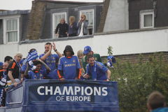 Chelsea - European Champions Stock Photos