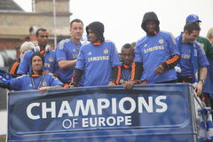 Chelsea - European Champions Stock Photo