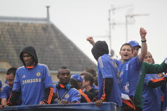 Chelsea - European Champions Royalty Free Stock Images