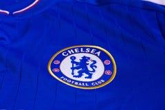 Chelsea FC emblem royaltyfri fotografi