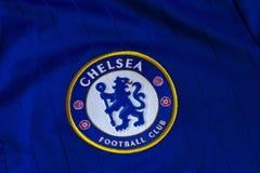 Chelsea FC emblem royaltyfria foton