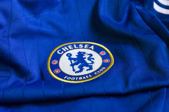 Chelsea FC emblem. Royalty Free Stock Photo
