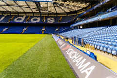 Chelsea FC Stamford Bridge Stadium Royalty Free Stock Photo