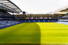 Chelsea FC Stamford Bridge Stadium Royalty Free Stock Photography