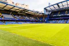 Chelsea FC Stamford Bridge Stadium Royalty Free Stock Images
