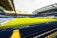 Chelsea FC Stamford Bridge Stadium. Chelsea Football Club Stamford Bridge Stadium, London, United Kingdom Stock Photos